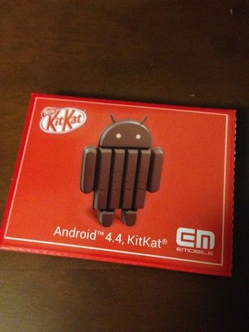 Kitkatドロイドくんチョコ