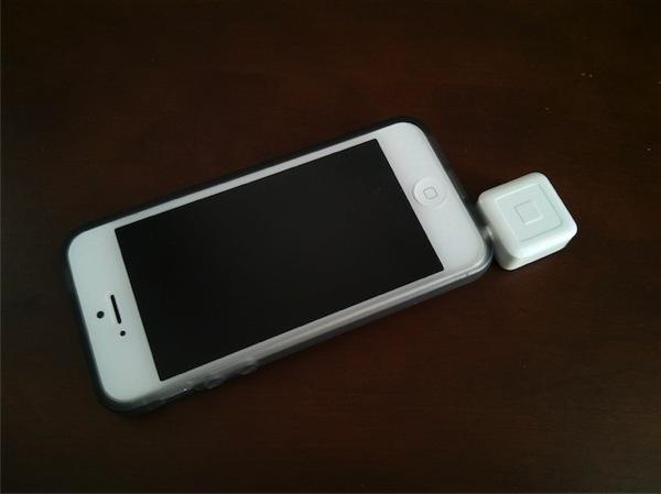squareをiPhoneにセット