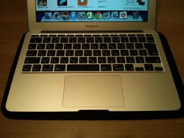 MacBookAirのトラックパッド