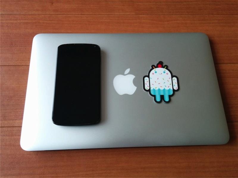 Nexus5とドロイドくん