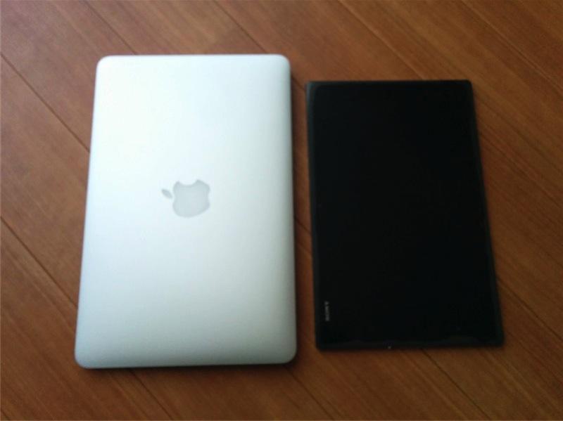 Z2 Tablet と MBA