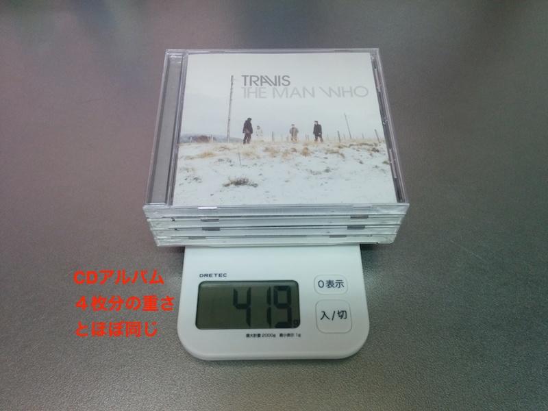 Xperia Z2 Tablet の重さはCDアルバム4枚分