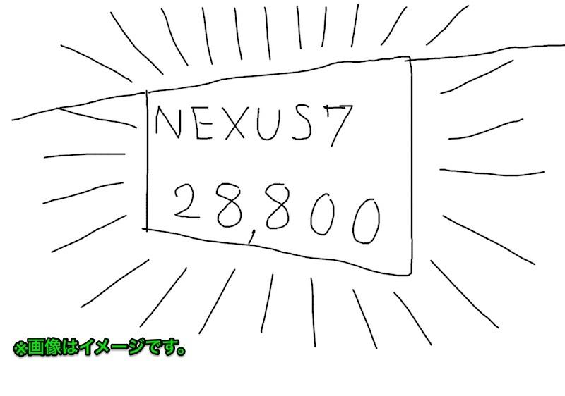 Nexus7スターターキットが格安で販売中