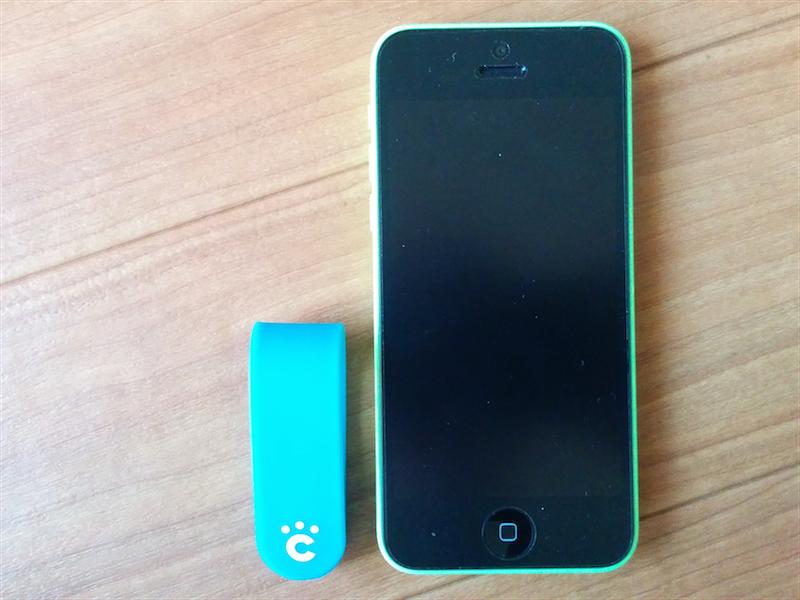 iPhone5Cとのサイズ比較