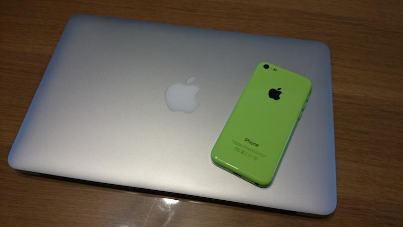 MBAとiPhone5C
