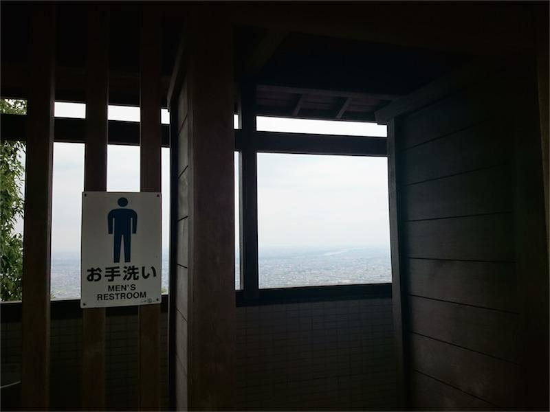 岐阜一見晴らしの良い公衆トイレ