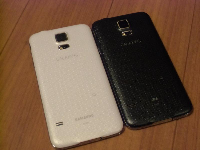 Galaxy S10 のバックカバー