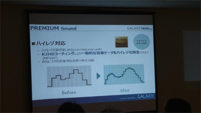 音源の擬似ハイレゾ化も可能