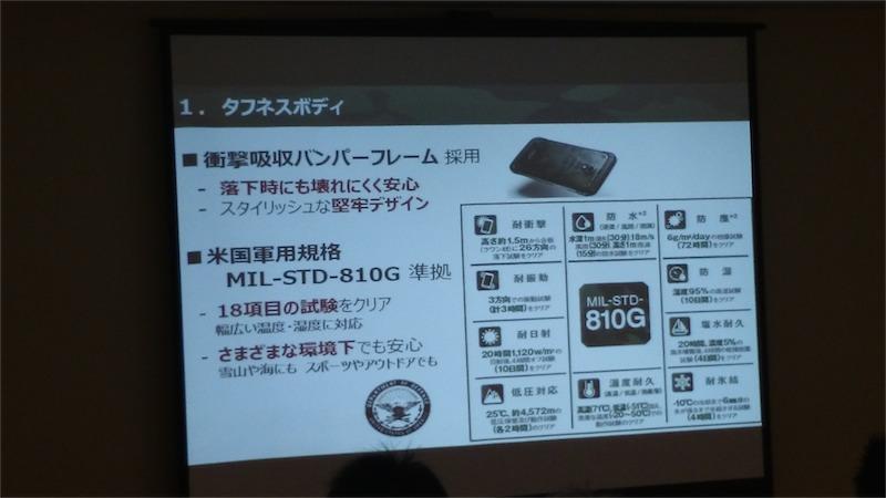 Galaxy S5 Active は MIL に準拠