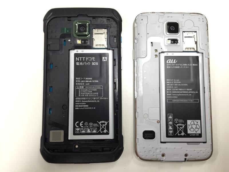S5 と S5 Active