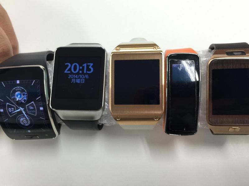 Samsungのスマートウォッチ大集合