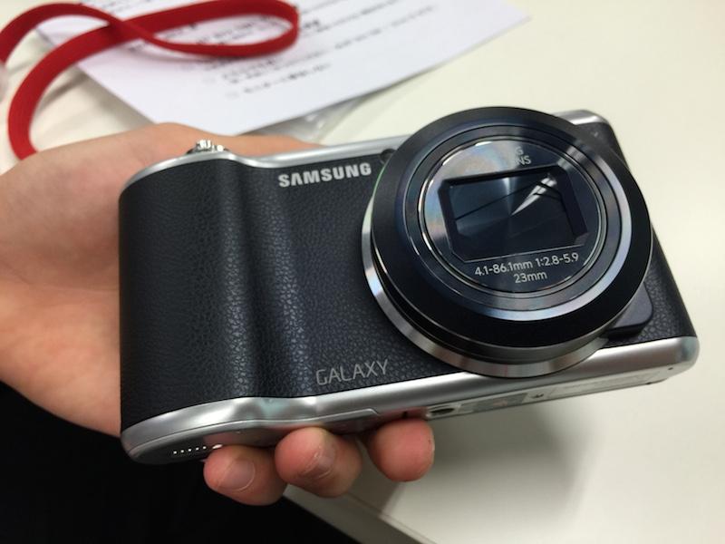 隣の方が思っていた Galaxy Camera 2