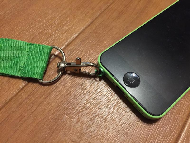 iPhone と Pluggy Lock