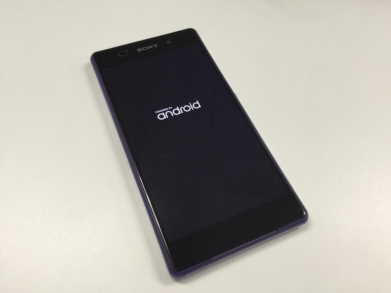 Xperia Z2 with Android4.4.4