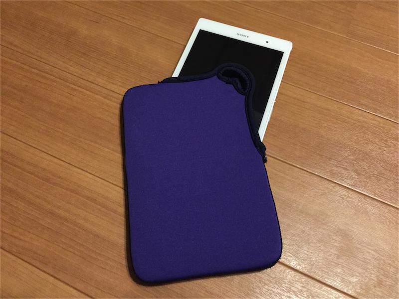 Xperia Z3 Tablet CompactにはNexus7のケースが使える