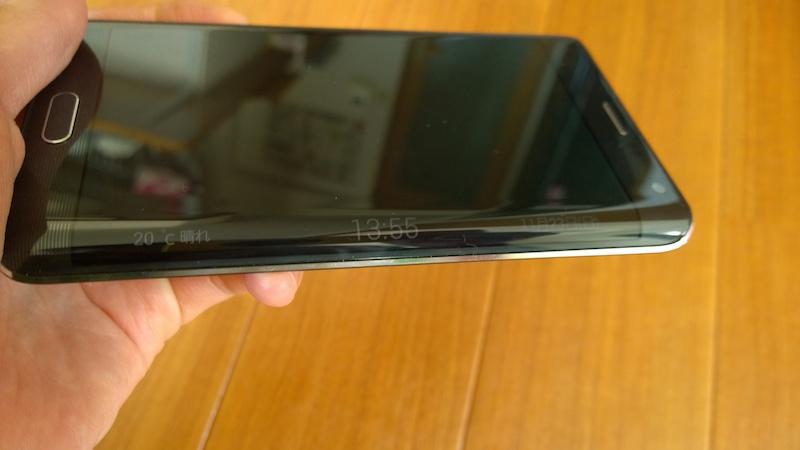 Galaxy Note Edge のナイトクロック機能