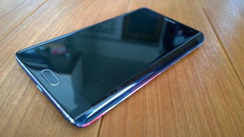 Galaxy Note Edge のエッジスクリーン