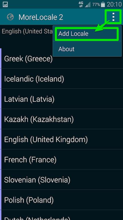 Galaxy Note 4を日本語化する方法