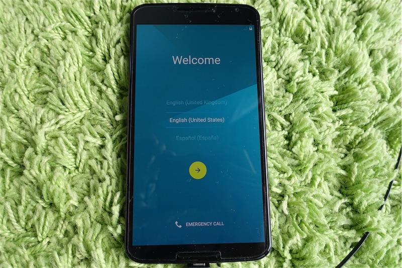 Nexus6のブートローダーアンロック