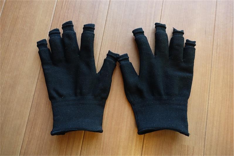 スライドタッチ手袋