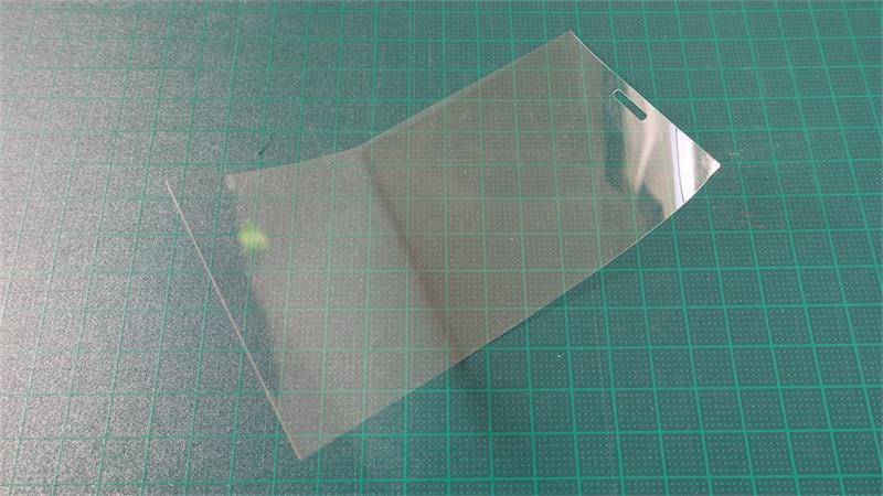 DMC-CM1用保護フィルムを自作