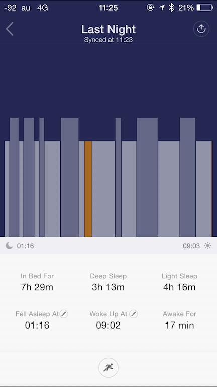 Xiaomi Mibandのレビュー
