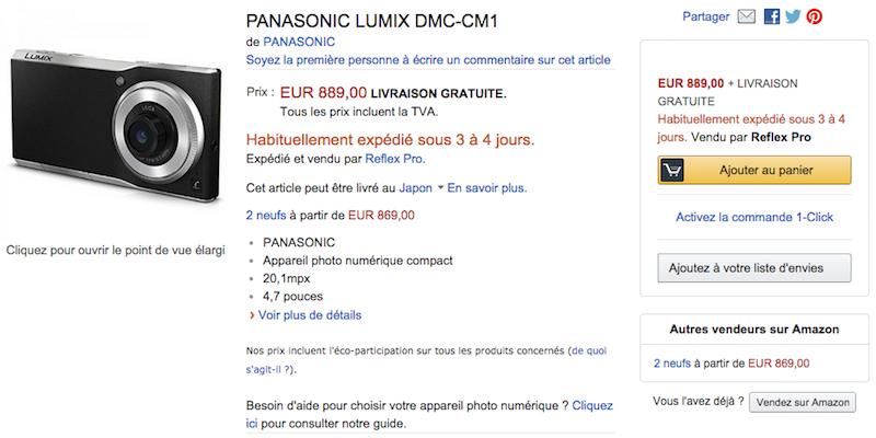 LUMIX DMC-CM1の在庫情報