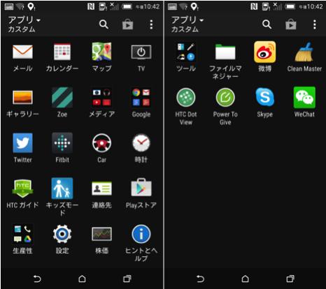 HTC One M8の中身