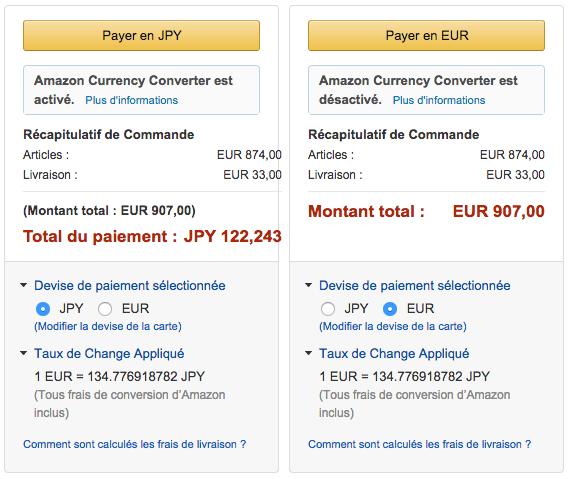 Amazon.frでのDMC-CM1の販売価格