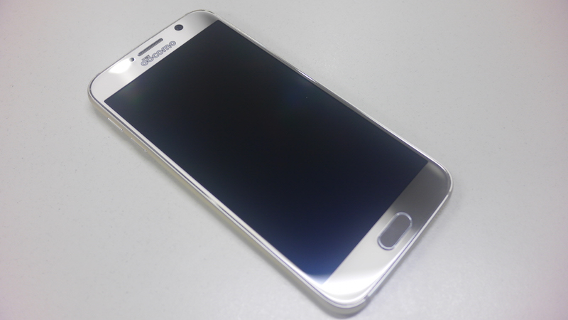 Galaxy S6をタッチ&トライ