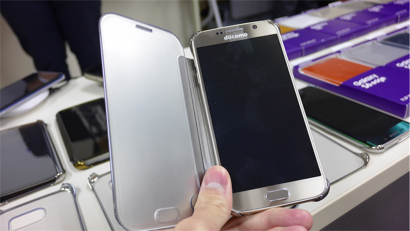 Galaxy S6/S6 edge用の純正アクセサリー