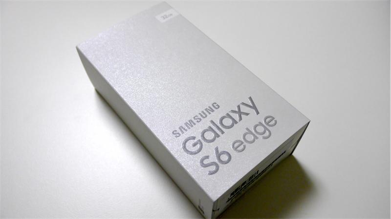 Galaxy S6 edge開封の儀&外観レビュー