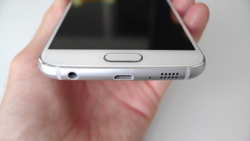 Galaxy S6(SC-05G)の外観セカンドインプレッション