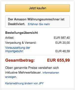 Amazon.deでXperia Z3+の予約受付がスタート