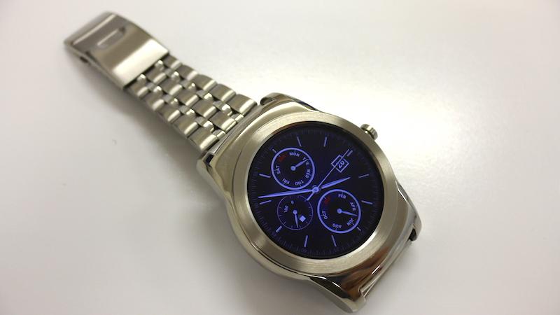 LG Watch Urbane(Silver)のバンドを金属バンドに交換