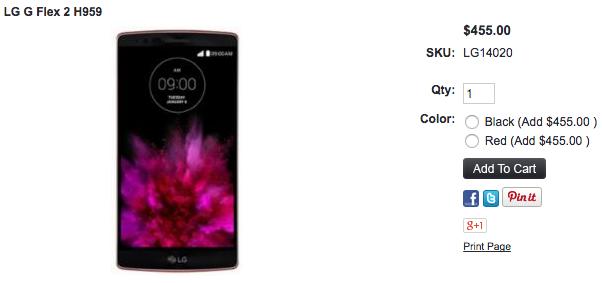 LG G Flex 2 H959