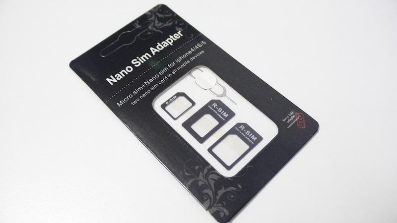 1円SIMアダプター