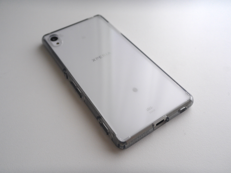 Xperia Z4 専用 Spigen ウルトラ・ハイブリッド クリスタルクリア