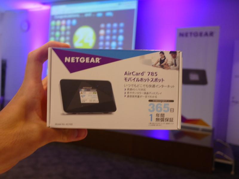 NETGEARのAirCard785について