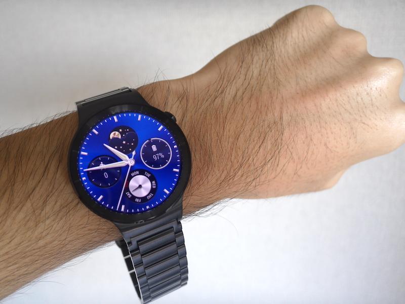 Huawei Watch 外観レビュー&ファーストインプレッション