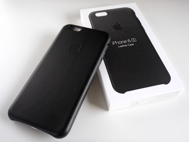 Apple純正 iPhone 6s レザーケース