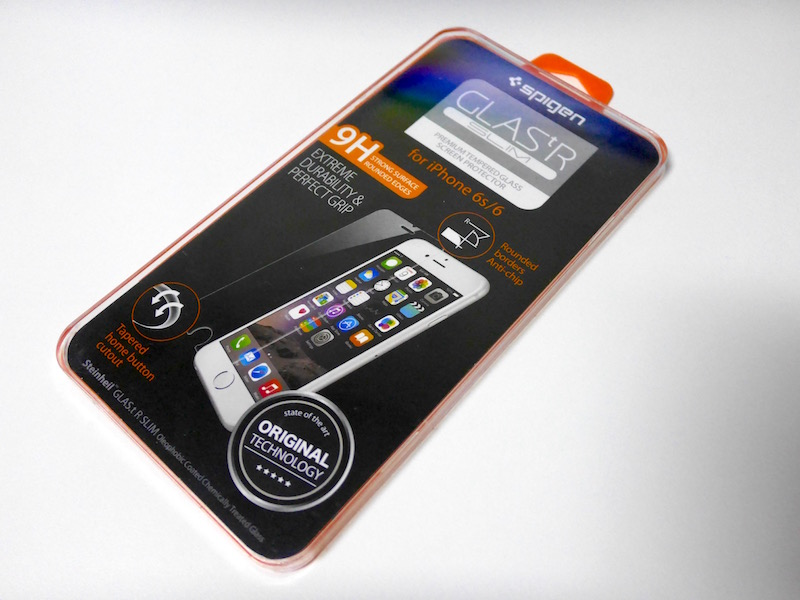 Spigen iPhone 6s ガラスフィルム SGP11588