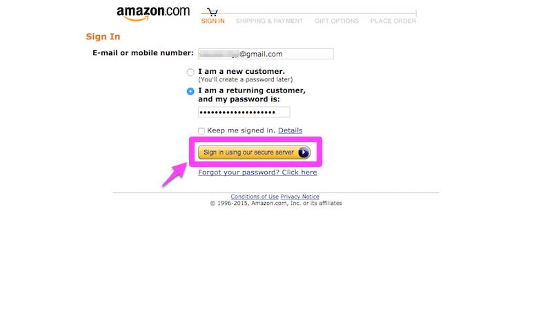Amazon アカウント作成 手順