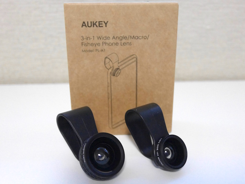 Aukey 3in1 クリップ式 PL-A1