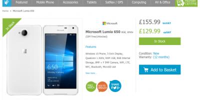 Handtec Microsoft Lumia 650