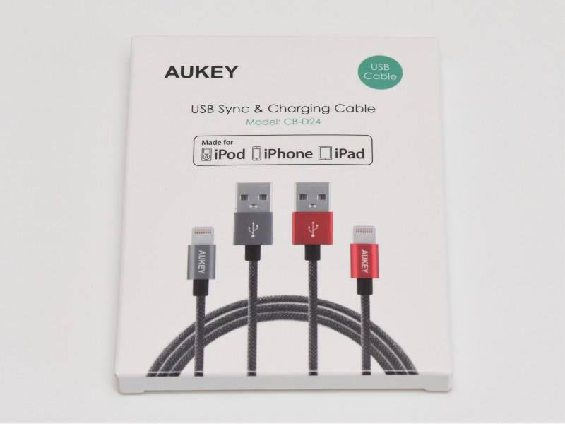 Aukey Lightningケーブル CB-D24