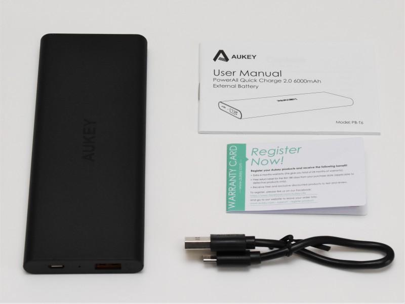 Aukey モバイルバッテリー PB-T6