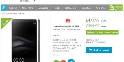 Huawei Mate 8 Handtec