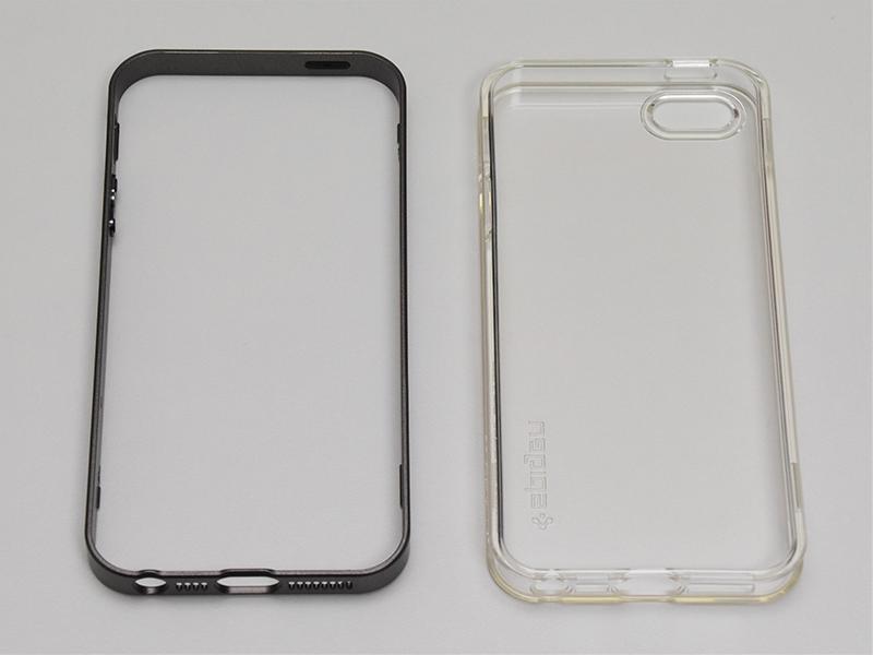 Spigen ネオ・ハイブリッド クリスタル Apple iPhone SE