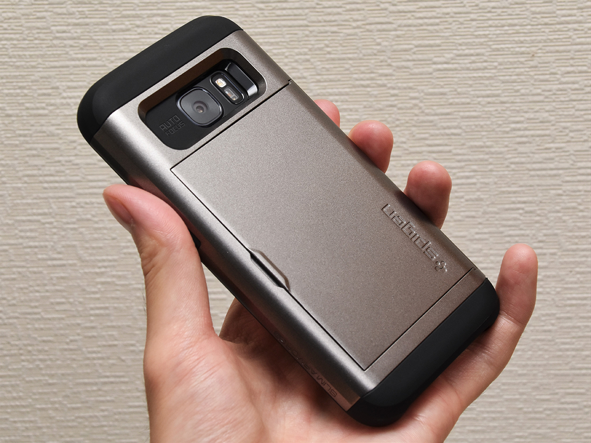 Spigen スリム・アーマーCS Samsung Galaxy S7